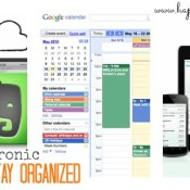 Electronic Ways to Stay Organized