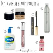 Favorite Beauty Products for Moms