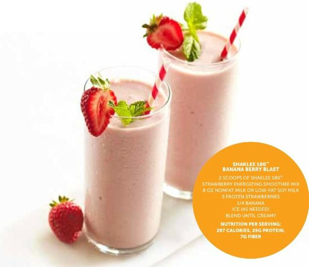 Shaklee 180 Smoothie Recipes