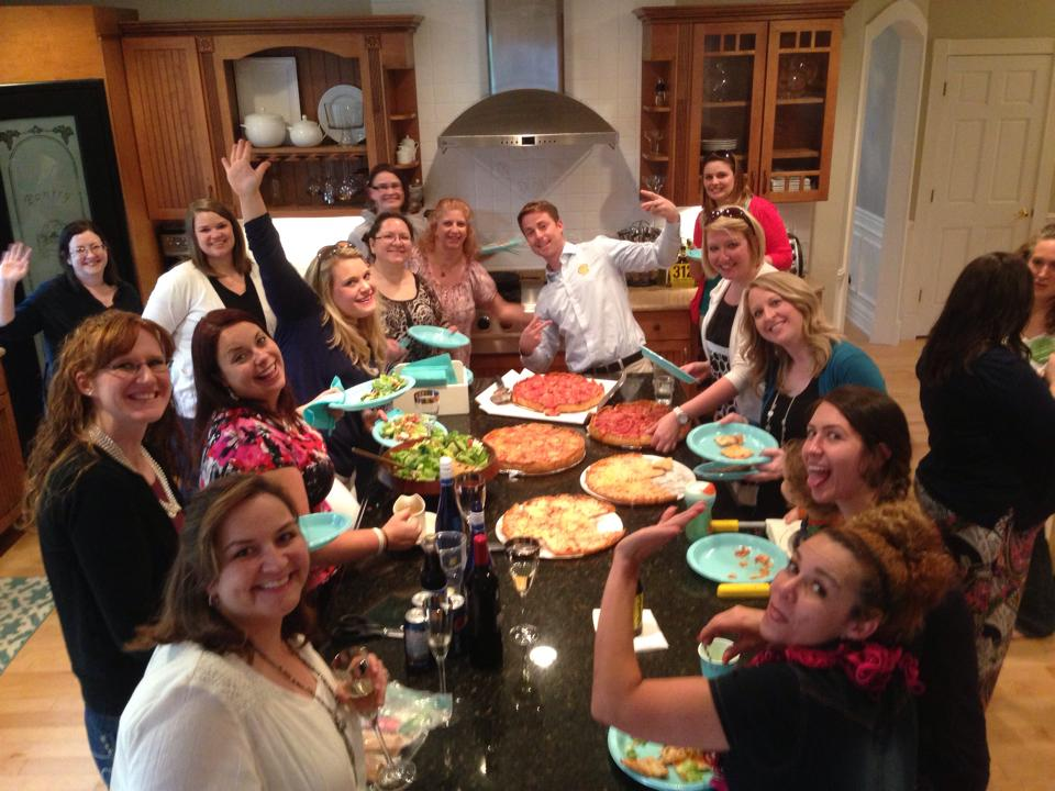 Shaklee Pizza Party